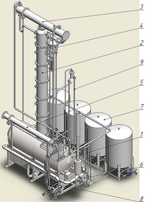 distillation plant