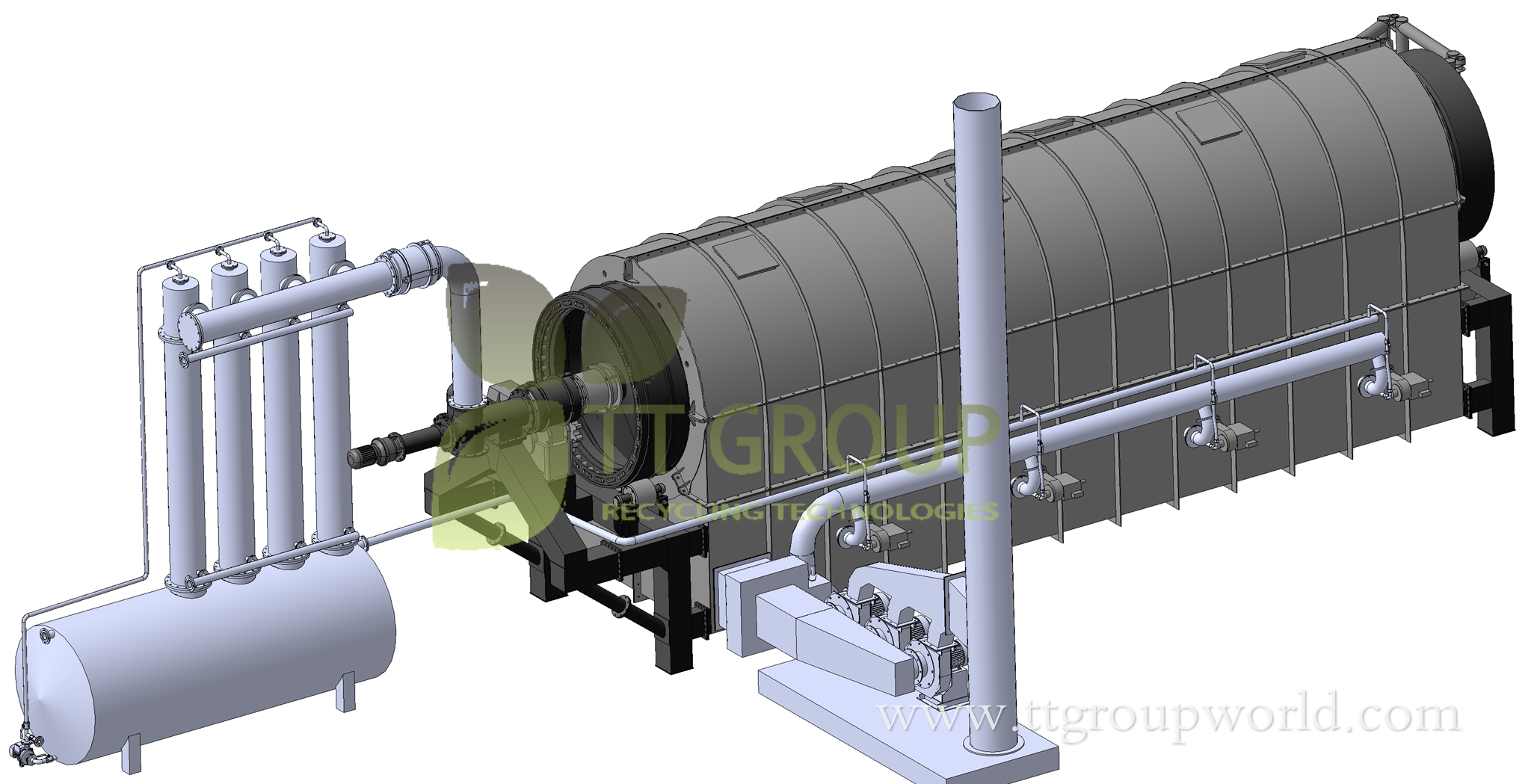 tyre pyrolysis recycling