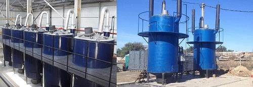 Pyrolysis plant FORTAN | TT GROUP ltd